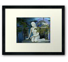 Naked fish Framed Print