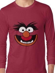 Animal Muppet (Orange Lips&Nose) Long Sleeve T-Shirt