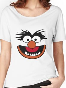 Animal Muppet (Orange Lips&Nose) Women's Relaxed Fit T-Shirt