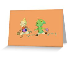 Wind Waker Treaters Greeting Card