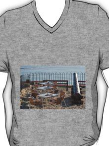 Outdoor Cafe - Lyme Regis T-Shirt