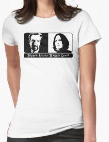Best villain Best hero Womens Fitted T-Shirt