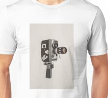 Retro Cine Camera Unisex T-Shirt