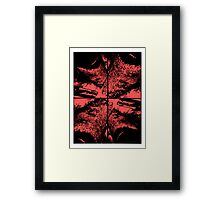 funky abstract Framed Print