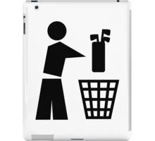Bin your golf bag iPad Case/Skin