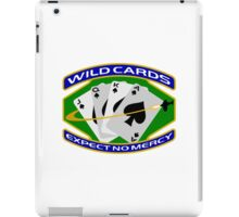 58th Squadron - 'Wildcards' Logo iPad Case/Skin