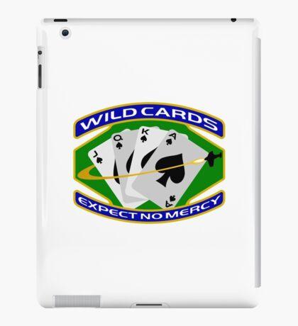 58th Squadron - 'Wildcards' Logo iPad Case/Skin