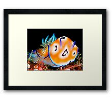 The Power and Elegance of a Leopardus Framed Print