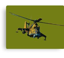 Mi 24 Hind color Canvas Print