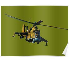Mi 24 Hind color Poster