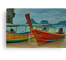 Colourful Tuk-Tuk Canvas Print
