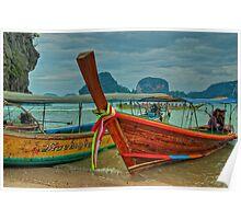 Colourful Tuk-Tuk Poster