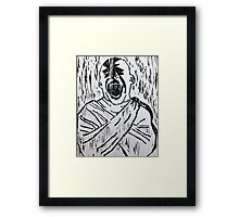 Who Hears Your Voice? Framed Print