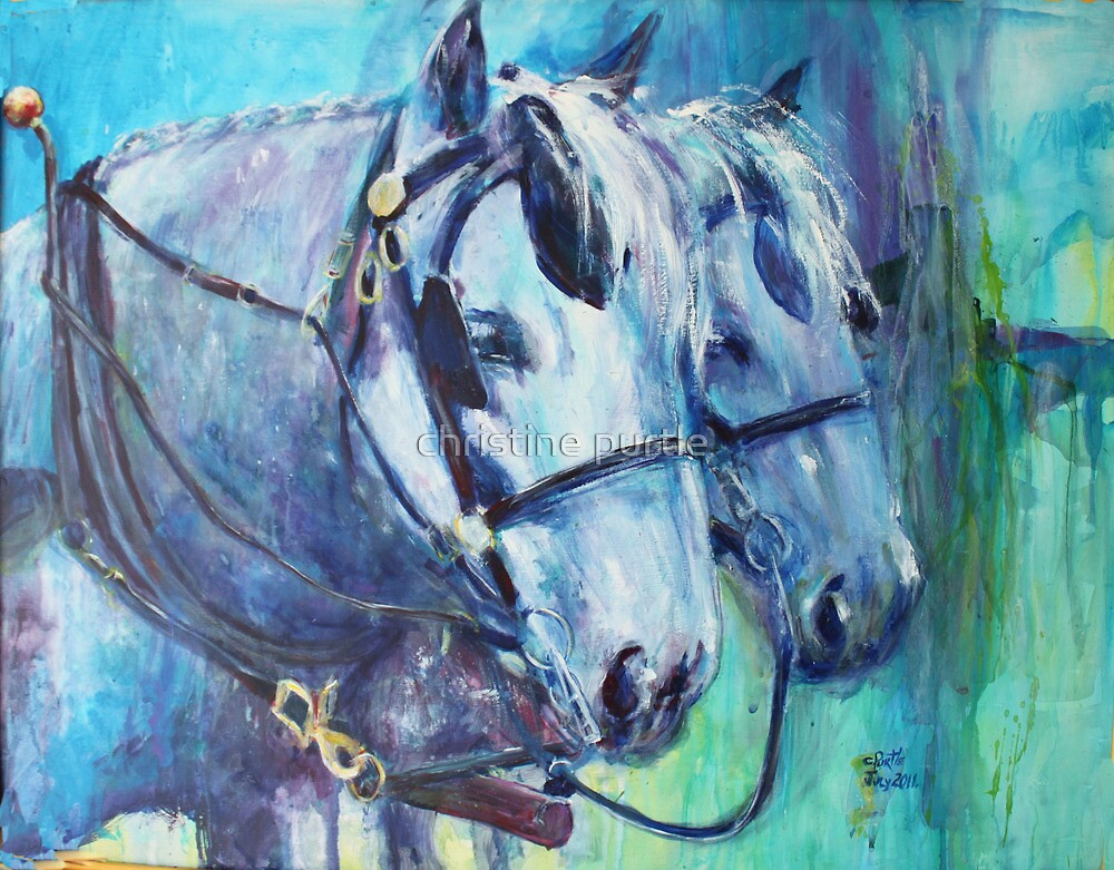 Cool Beauties by christine purtle