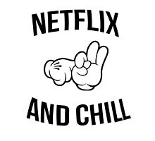 Netflix and chill - hands by CrowTeam
