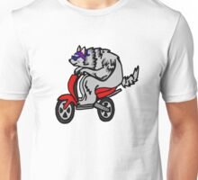Scooter Wolf Unisex T-Shirt