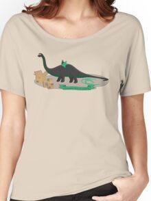 Dinosaurs love to cosplay Women's Relaxed Fit T-Shirt