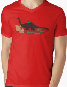 Dinosaurs love to cosplay Mens V-Neck T-Shirt