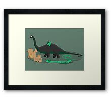 Dinosaurs love to cosplay Framed Print
