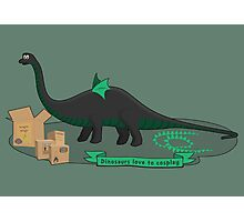 Dinosaurs love to cosplay Photographic Print