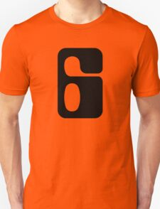 Houston!  Number 6!  Jonathan! Unisex T-Shirt