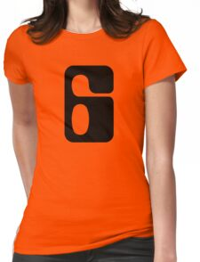 Houston!  Number 6!  Jonathan! Womens Fitted T-Shirt