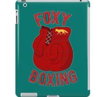 Foxy boxing iPad Case/Skin
