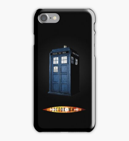 Dr Who Tardis iPhone Case/Skin