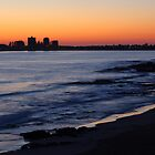 Up before sunrise at Mooloolaba Beach by Justin Gittins