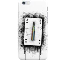 Peace bullet iPhone Case/Skin