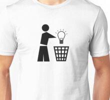Bin your ideas Unisex T-Shirt