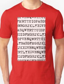 Old typewriter letters T-Shirt