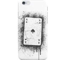 Ace of Spades Cracked iPhone Case/Skin