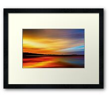 Forest Twilight Framed Print