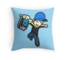 thatCJ Logo Throw Pillow