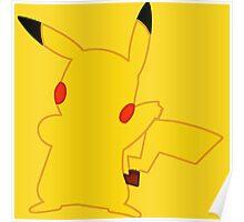 Pikachu Minimalist Poster