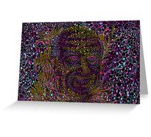 Albert Hofmann psychedelic portrait Greeting Card