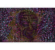 Albert Hofmann psychedelic portrait Photographic Print
