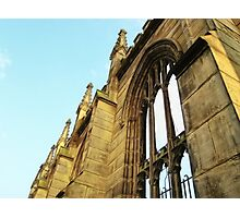 Roofless - Bombed Out Church - Liverpool Photographic Print