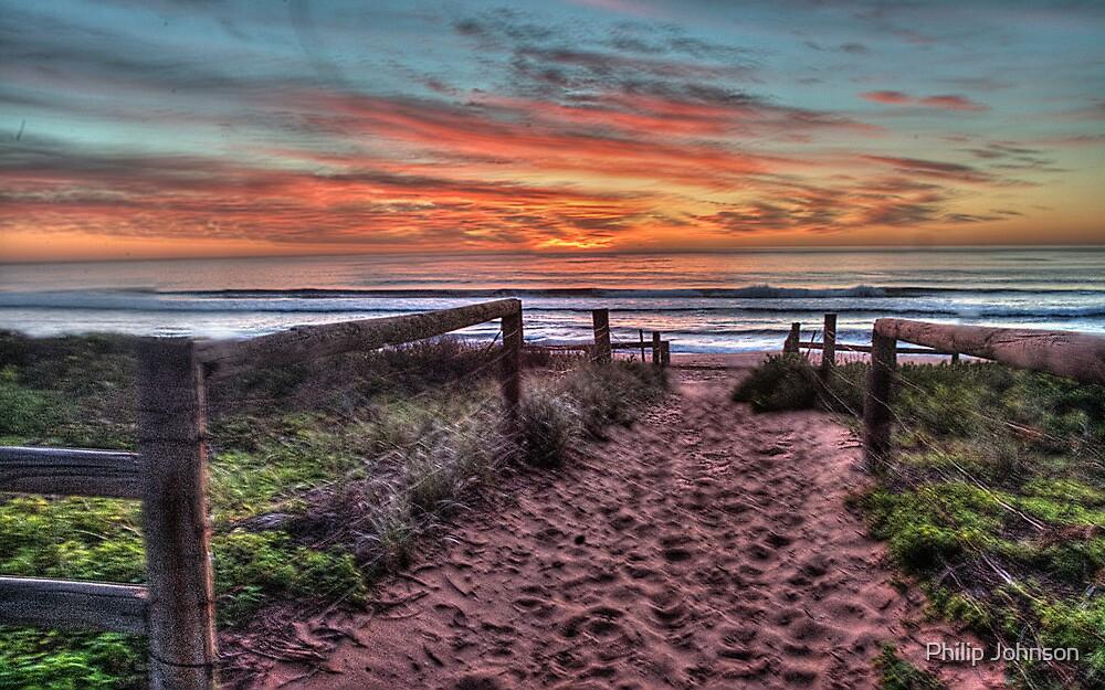 Daybreak - Newport Beach,Sydney Australia - THe HDR Experience by Philip Johnson