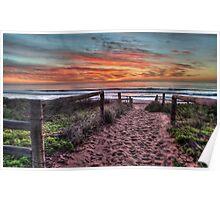 Daybreak - Newport Beach,Sydney Australia - THe HDR Experience Poster