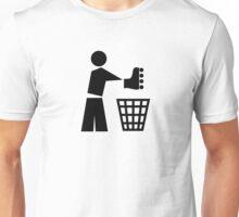 Bin your skates Unisex T-Shirt
