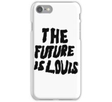 the future is louis - louis tomlinson in white iPhone Case/Skin