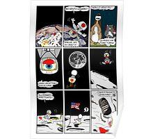 """Rick the chick  """"THE MAGIC SHELL (Un pulcino sulla luna) parte 18"""" Poster"""