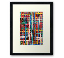Just strings attached Framed Print