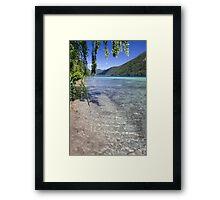 Calm Water Framed Print