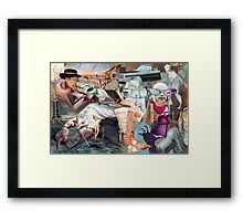 A Dream within a Dream of an Audience with the Pope. Framed Print