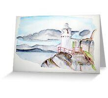 Lighthouse West Cork Greeting Card