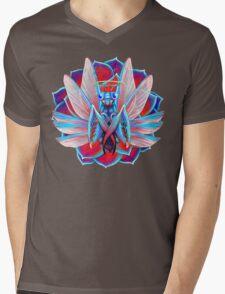 Praying Mantis Mens V-Neck T-Shirt