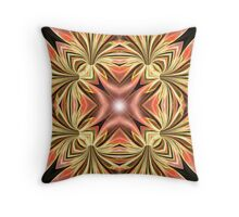 Petal Twist Throw Pillow